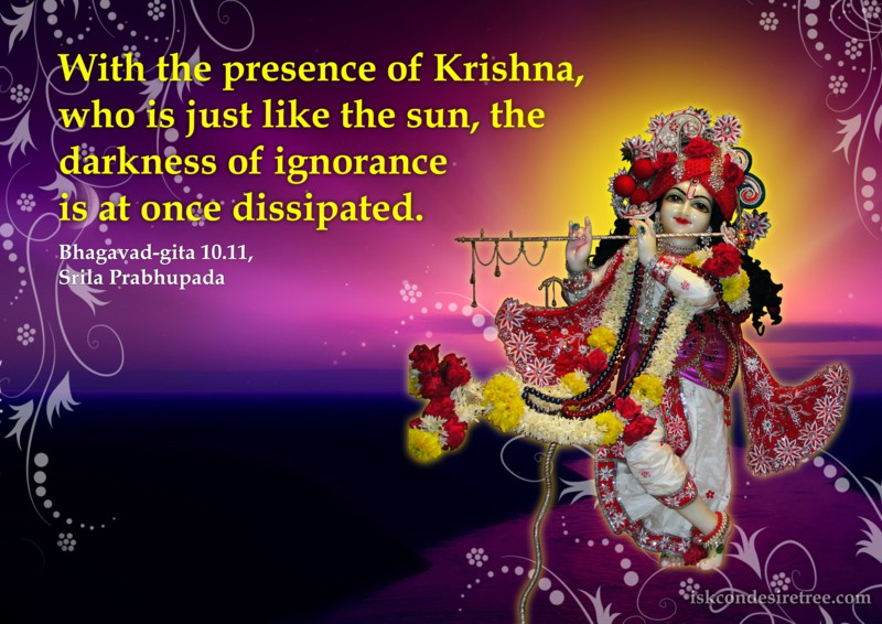 Effect Of Presence Of Krishna