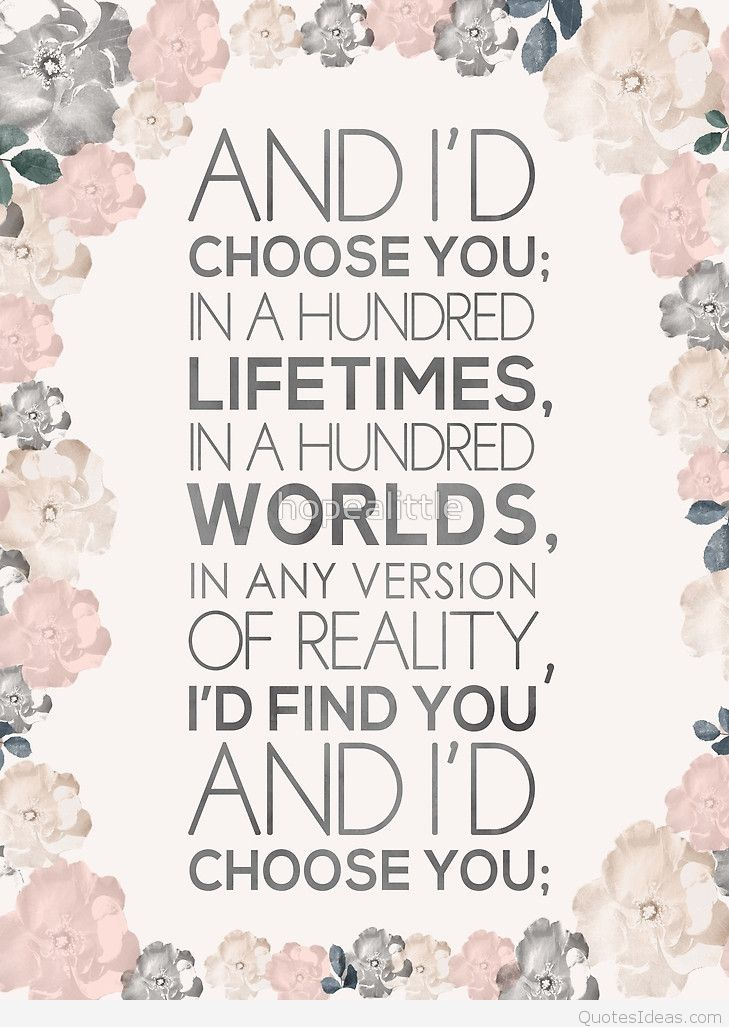 Romantic Love Quote Pinterest With Card