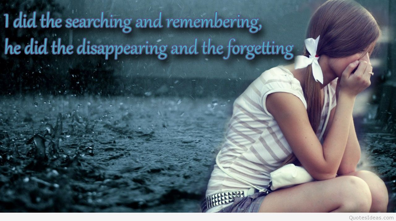 Sad Love Quotes Wallpapers For
