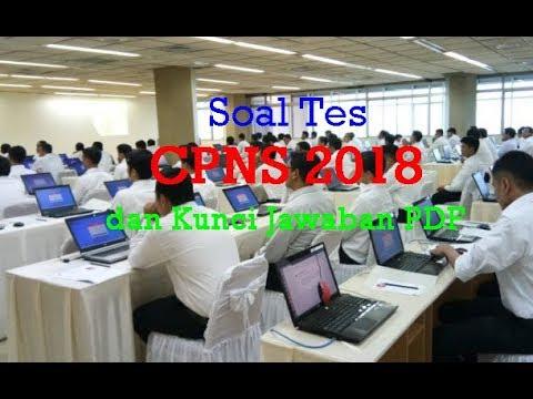 Contoh Soal Tes Cpns 2018 Dan Kunci Jawaban Pdf Icpns