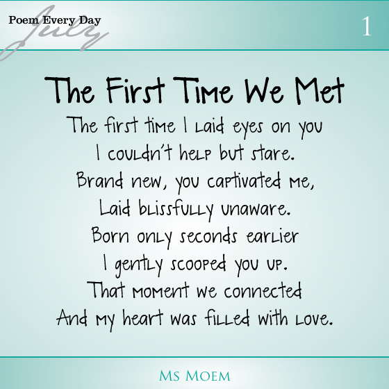 The First Time I Met You Quotes Quotesgram
