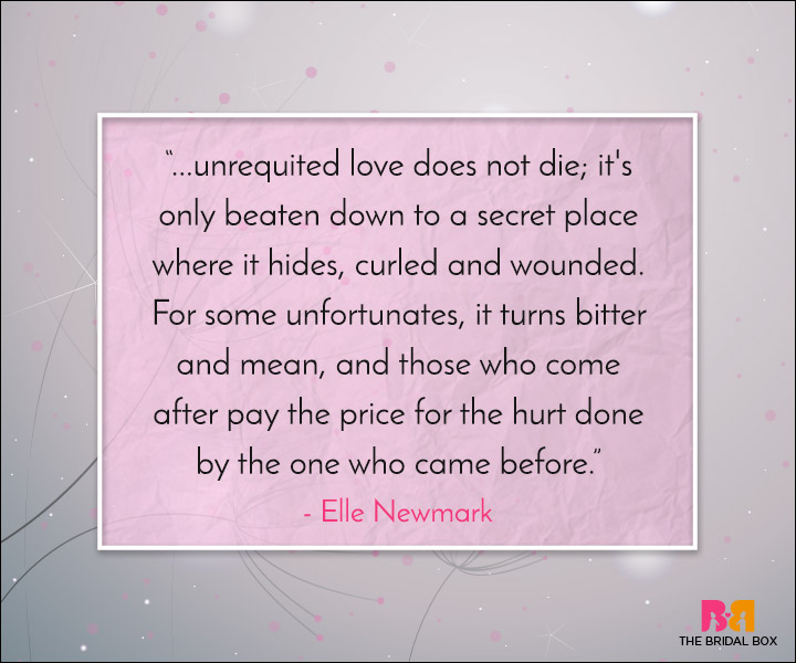 Unrequited Love Quotes Once Bitten Twice Shy