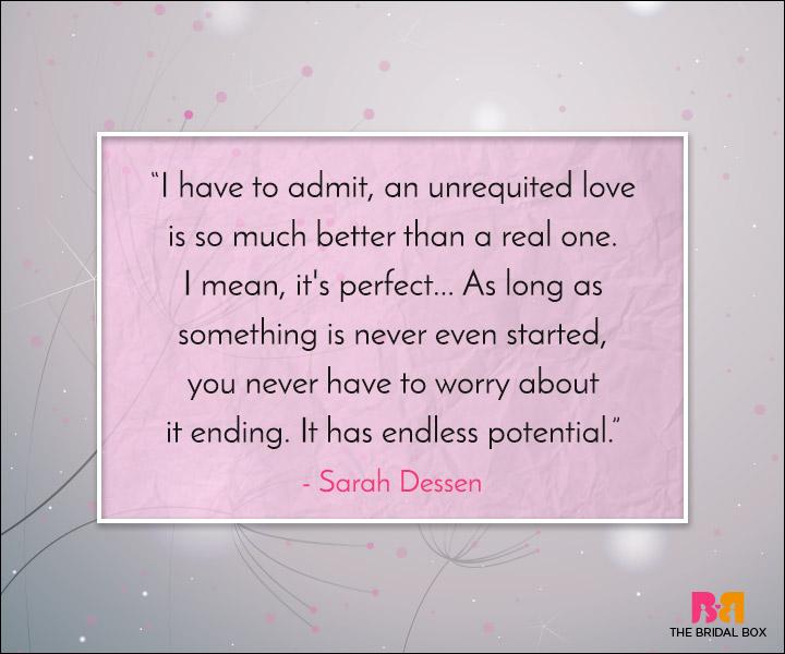 Unrequited Love Quotes The Illusion