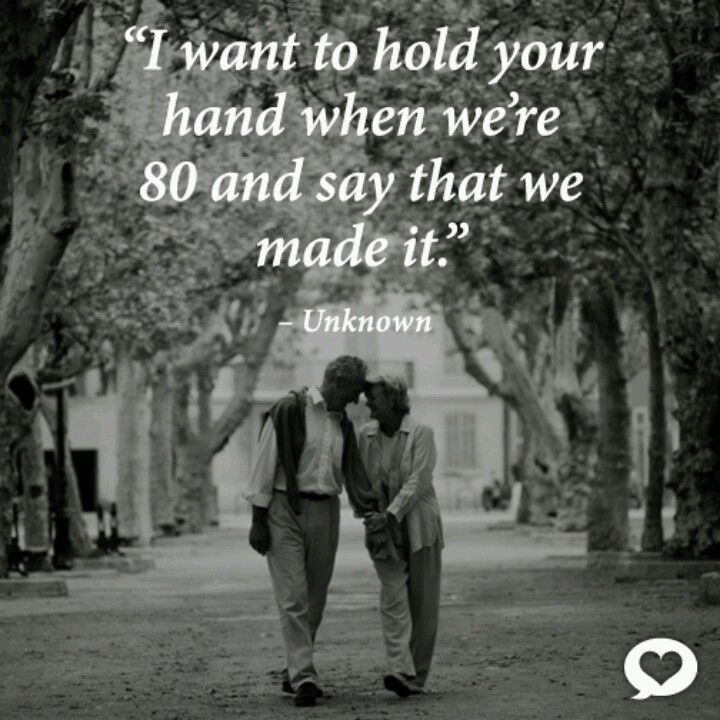 An Elderly Couple In Love Hoping My Husband And I Reach That Age Still Together