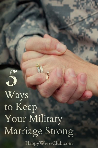 Ways To Keep Your Military Marriage Strong