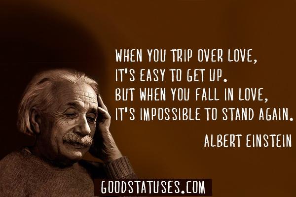 Albert Einstein Quotes About Falling In Love