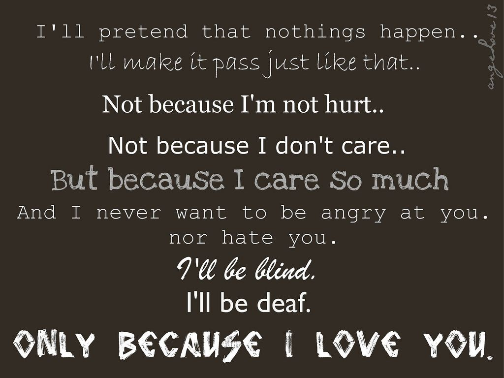 Short You Hurt Me Poems And Quotes Love Hurts Poems