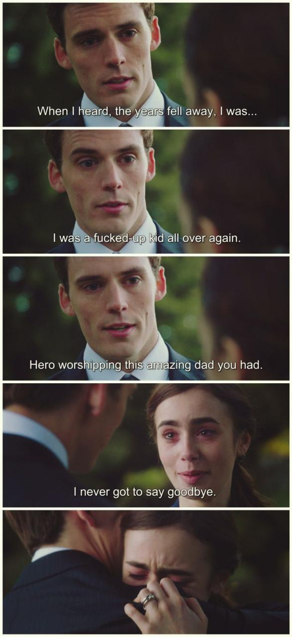 Love Rosie Lily Collins Sam Claflin Quotesmovie