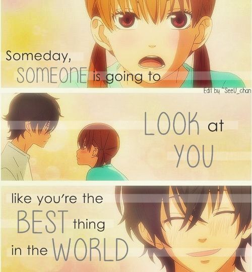 Romance Anime  C B My Little Monster Love Quotes Google Search