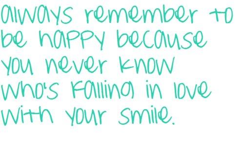 Be Happy Quotes Smile