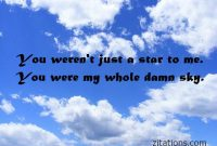 Sky Love Quotes