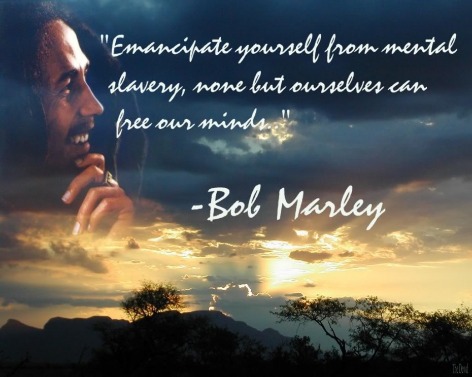 Best Bob Marley Quotes And The Blue Sky Capture With Him P O