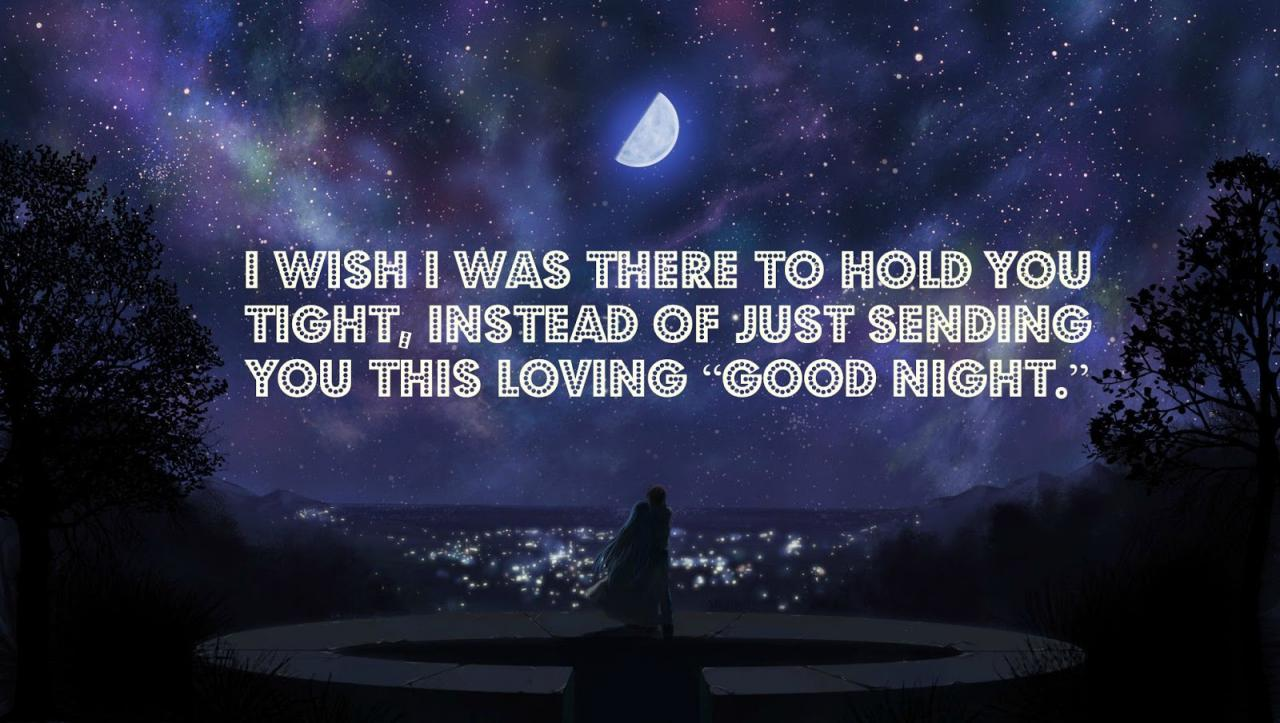 Best Good Night Quotes For Him Desktop Wallpaper