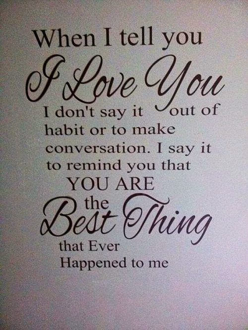 Best Thing Love Quotes For Her