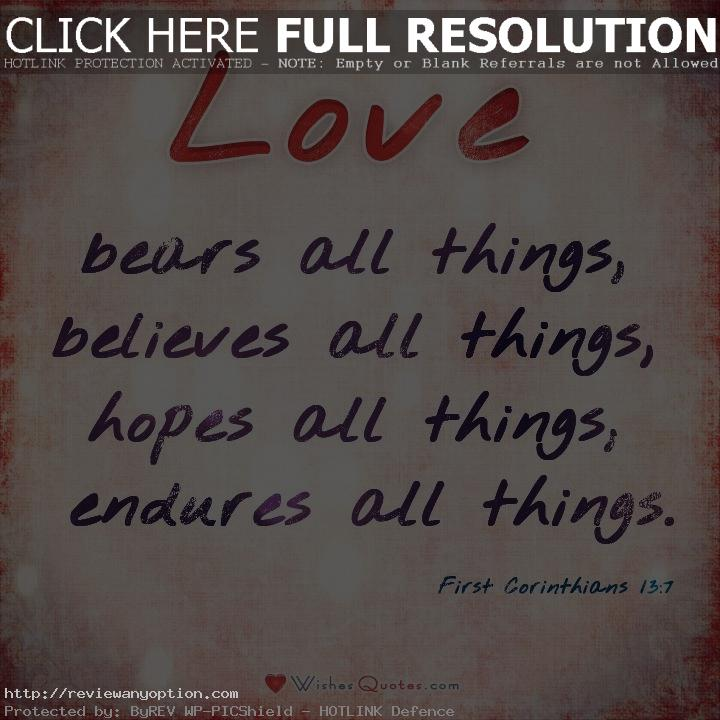 Bible Verses Love Quotes Amazing Most Important Bible Verses About Love
