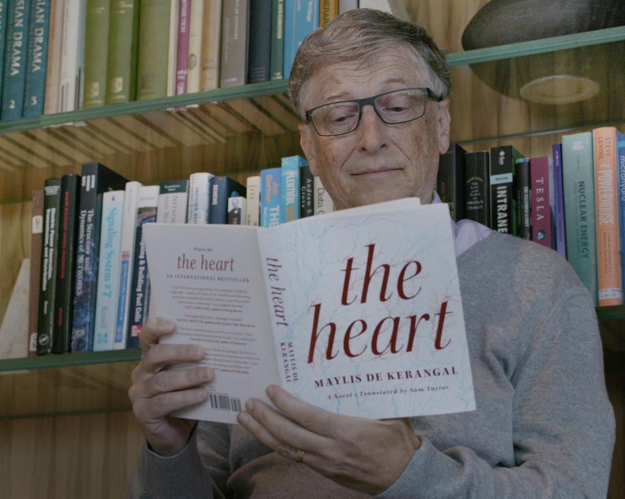 Bill Gates Discusses His Lifelong Love For Books And Reading