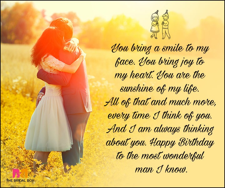 Birthday Love Quotes For Him The Special Man In Your Life Happy Birthday Images For Him