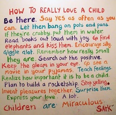How To Really Love A Child Love The Part About If Theyre Crabby