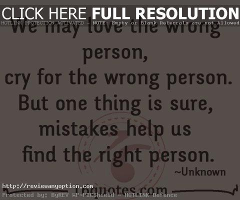 Crying Love Quotes Inspiration We May Love The Wrong Person