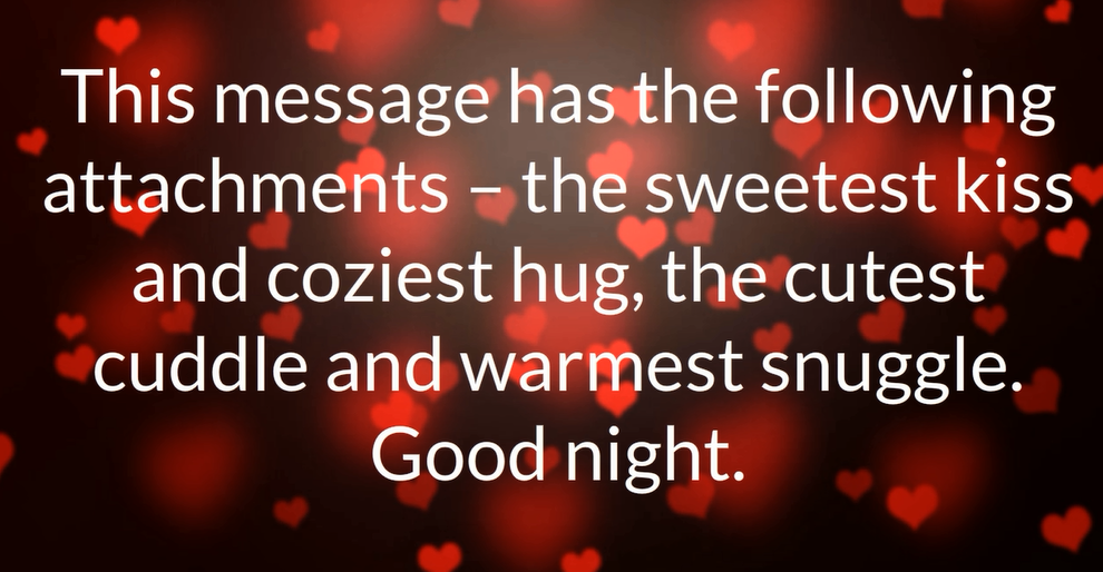 Cute Goodnight Love Quotes For Her And Him With Images