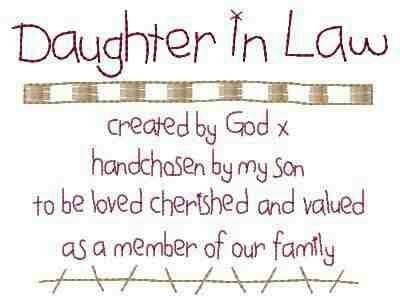 To My Beautiful Daughter In Law Thank You For Loving My Son And For  Beautiful Precious Grandbabies I Love You Sons Law Quotes And Inspirational