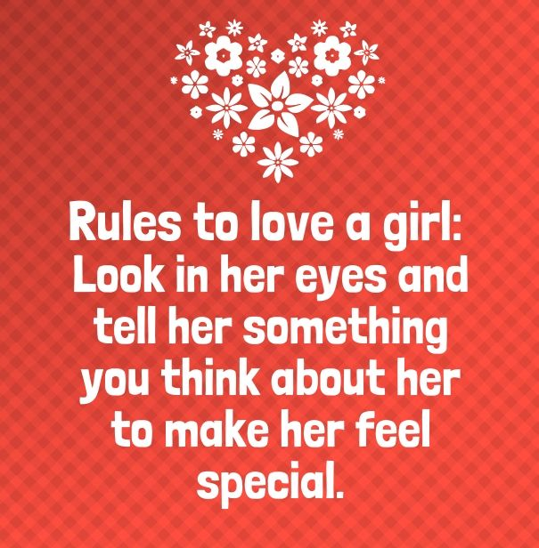 Make Her Feel Special Quotes