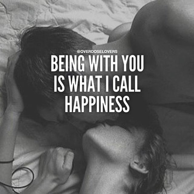 Being With You Is What I Happiness More