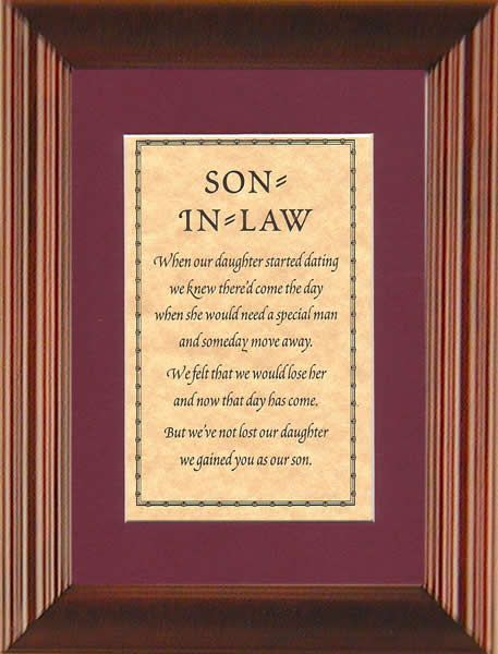 Quoats About Daughterin Laws Son In Law When Our Daughter Started Quotes That I Like