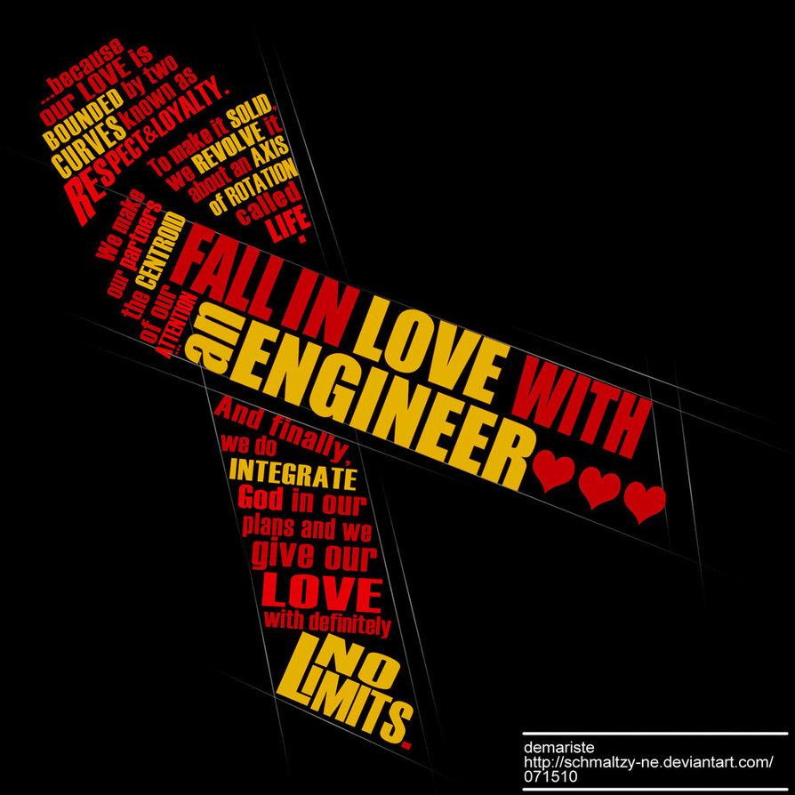 Fall In Love With An Engineer By Schmaltzy Ne