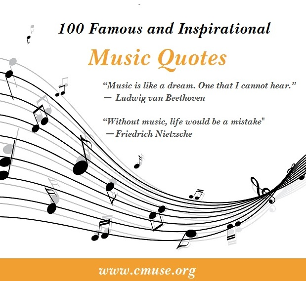 Famous And Inspirational Music Quotes
