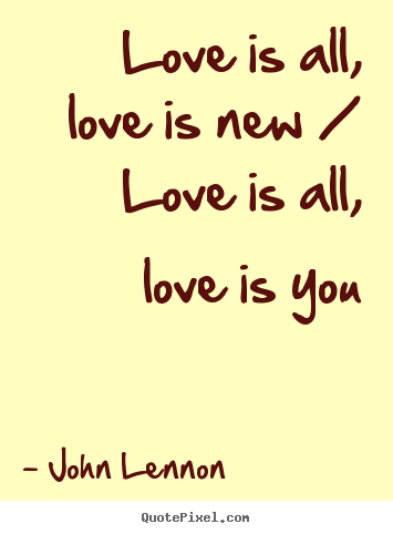 Create Your Own Picture Quotes About Love Love Is All Love Is New