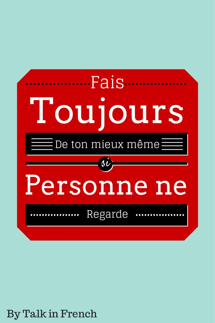 French Quote Of The Day  Quotes In French On Pinterest Language Quotes