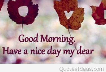 Good Morning Dear Quotes Android Pictures