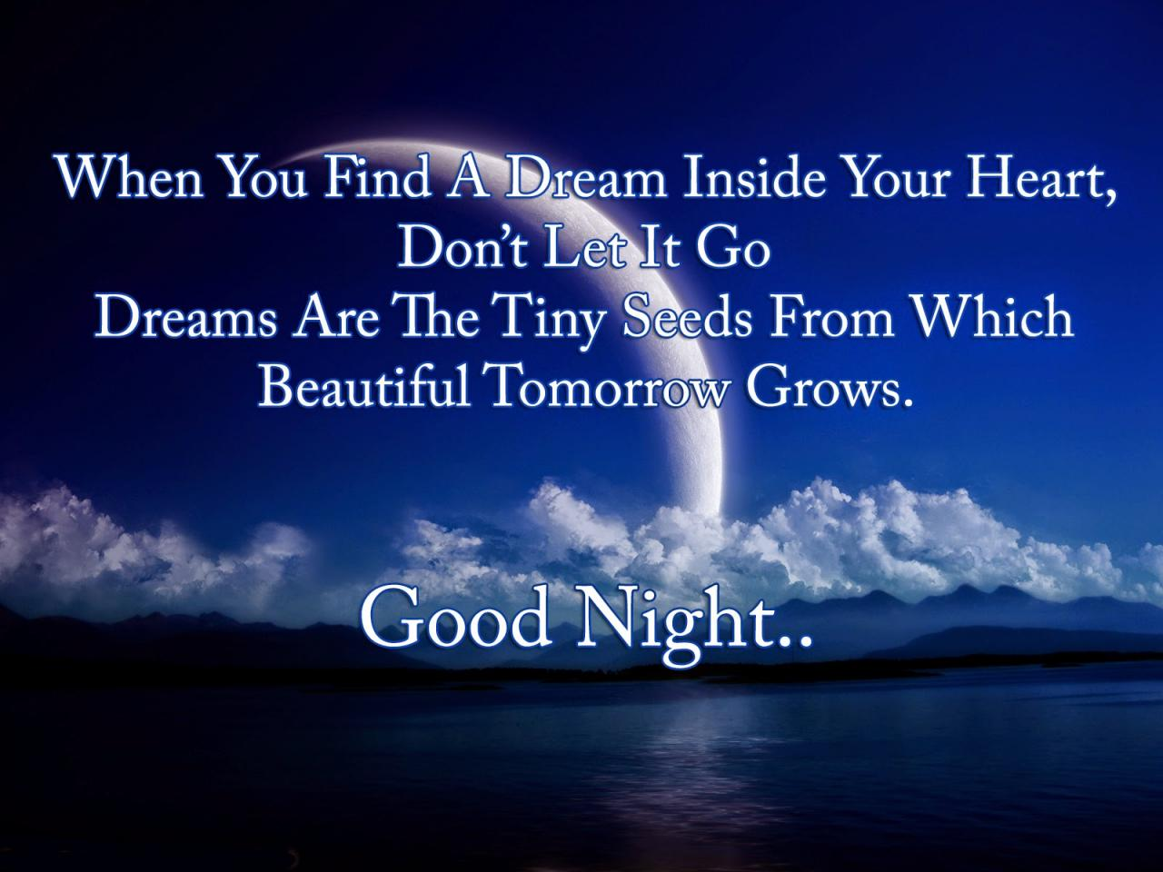 Good Night My Sweetheart Quotes Mobile Wallpaper