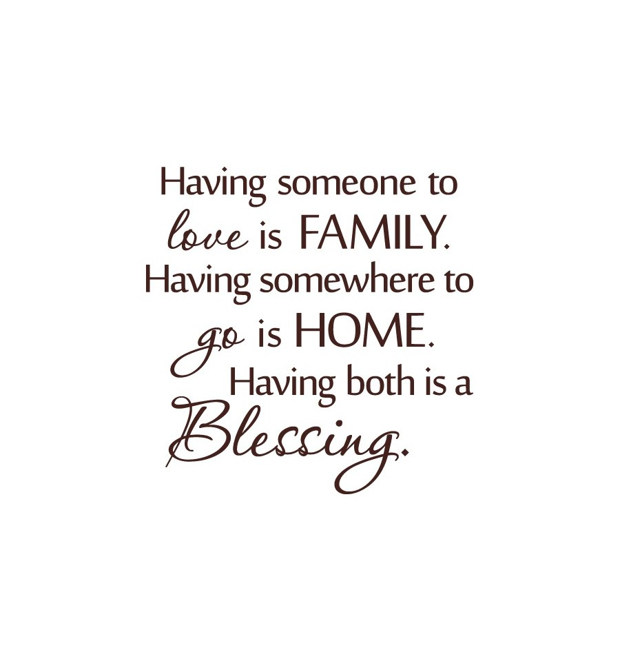 Love Quotes With Family Hover Me
