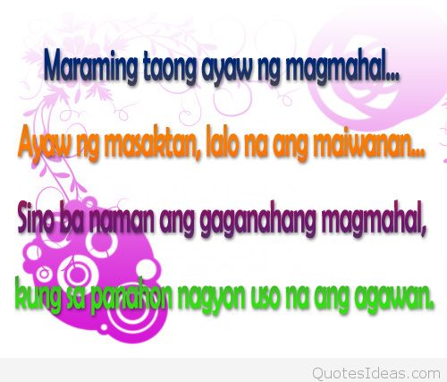 Hurt Love Quotes Tagalog I_dceecb Feffebeaddeba