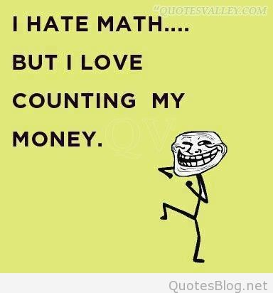 I Math But I Love Counting Money