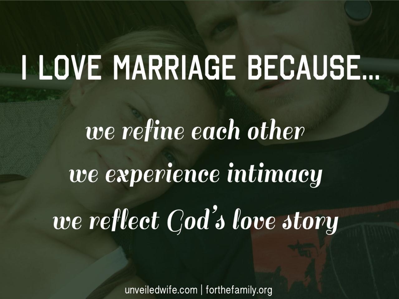 I Love Marriage