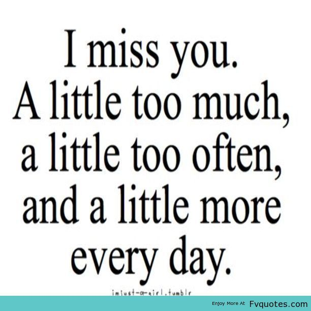 Miss You Distance Love Quotes