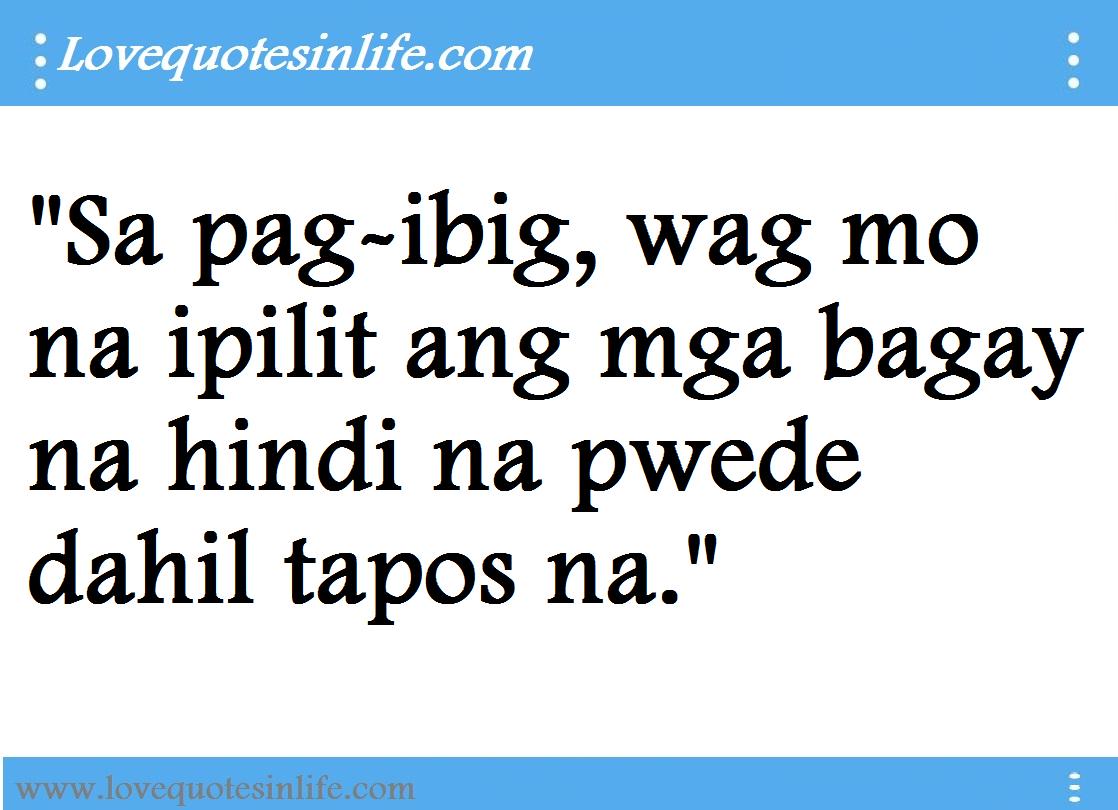 Love quotes tagalog hugot