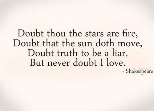 Love Shakespeare And Quote Image