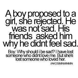 Love Boy And Quote Image