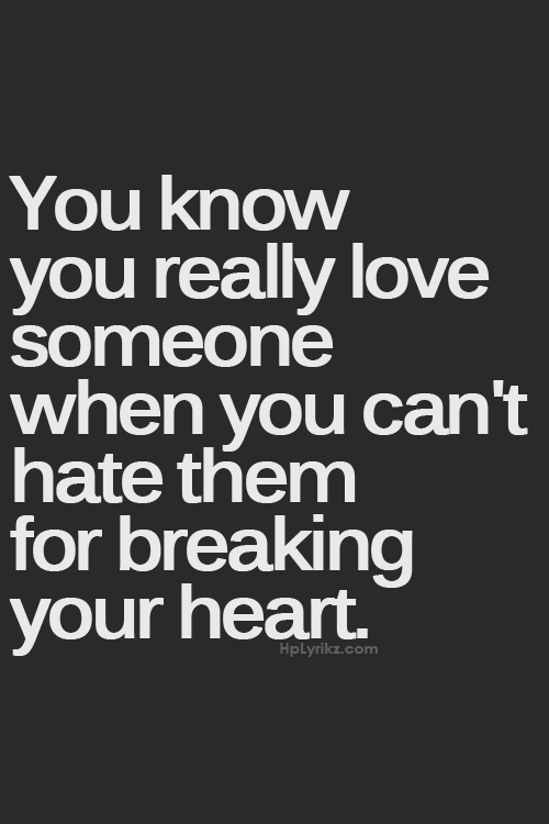 Love Quotes And Heart Image