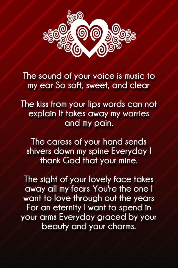 Emotional Love Poems For Him