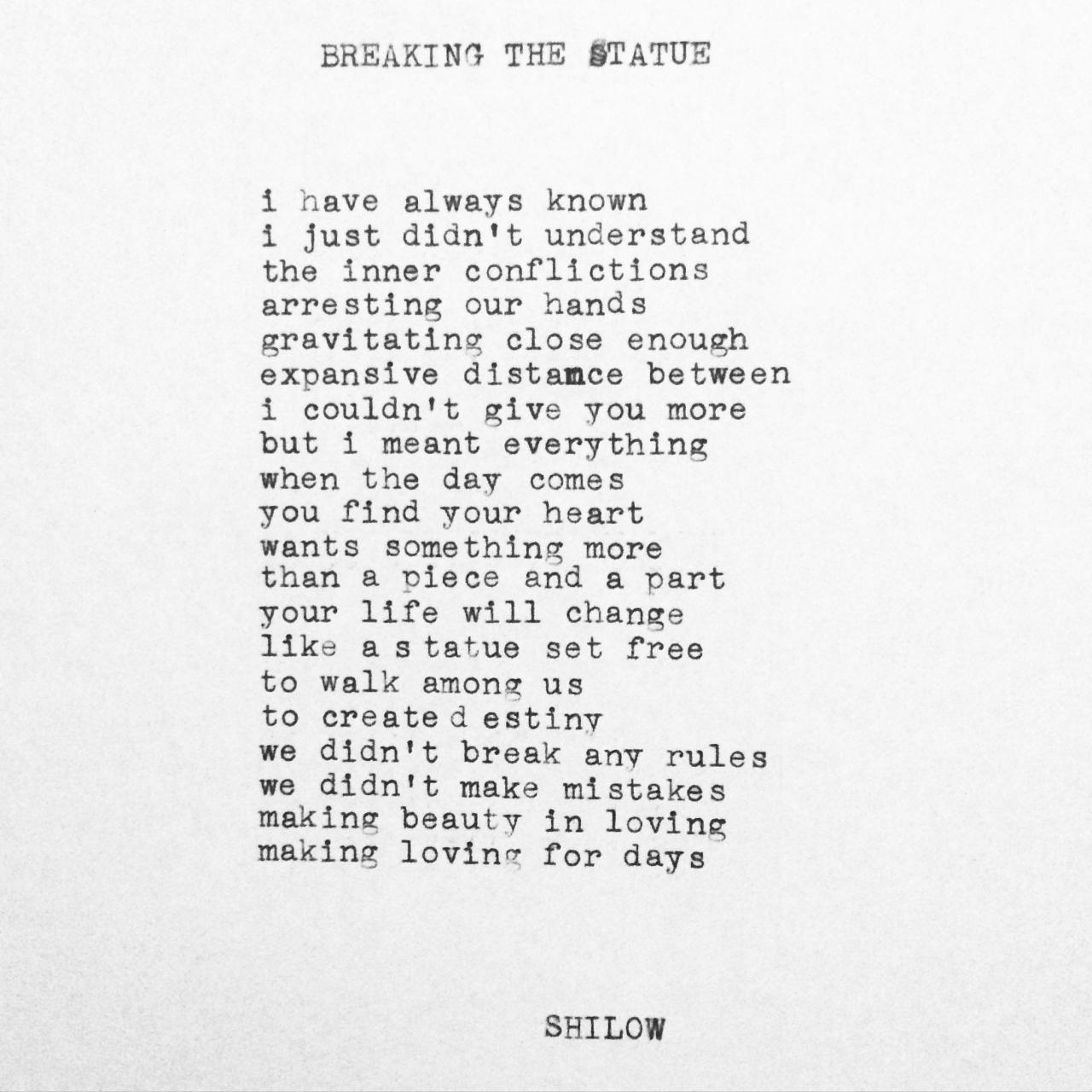 Love Hurts Poems