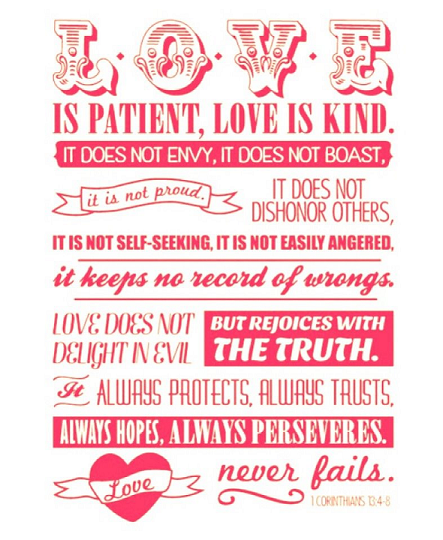 Corinthians Bible Verses Infographic