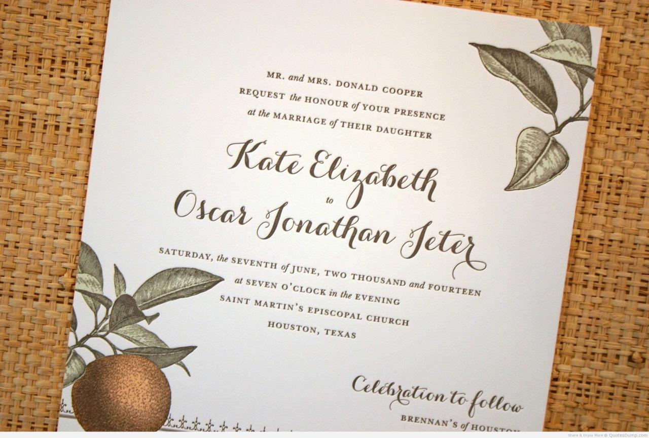 Love Quotes For Wedding Invitations  Good Love Quotes For Wedding Invitations