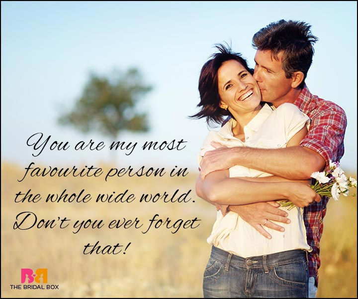 Love Quotes For Wife My Most Favourite Person