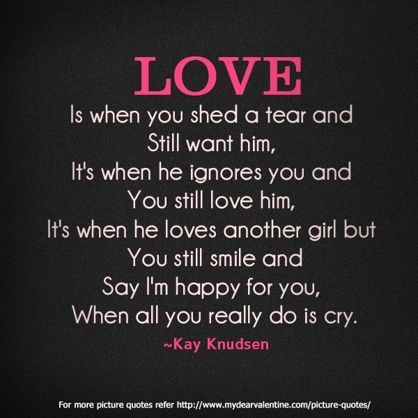 Love Quotes Sad But True