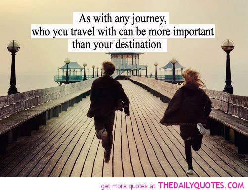 Who Is Traveling With You Is More Important Than Destination